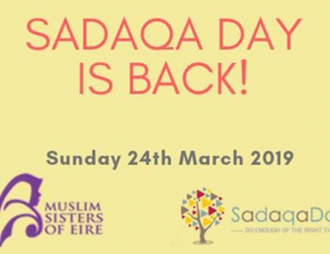 Sadaqa Day is Back